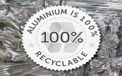 100% aluminum sheet