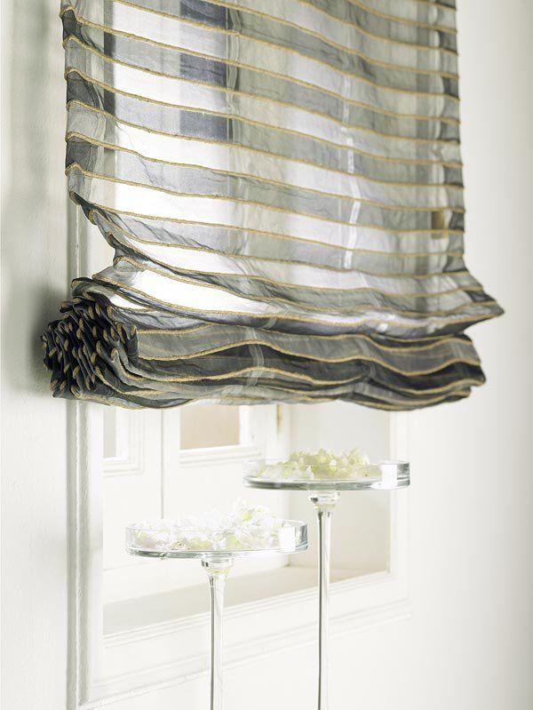 cortinas romanas sin varillas