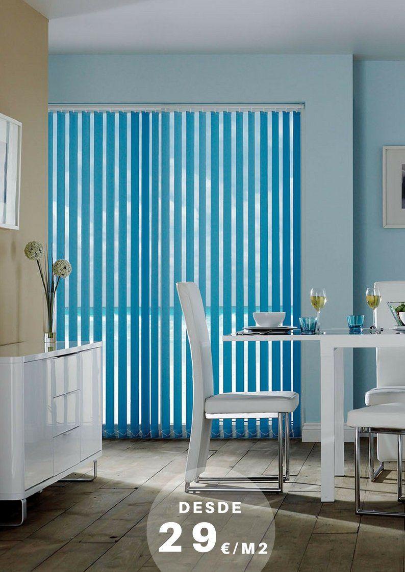 cortinas verticales a medida en malaga