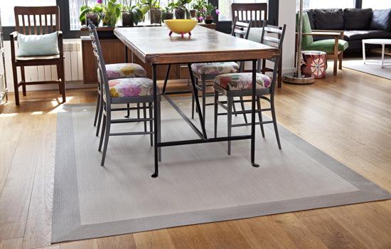 alfombra comedor de vinilo