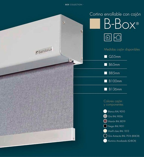 B-BOX ESTORES CON GUIAS