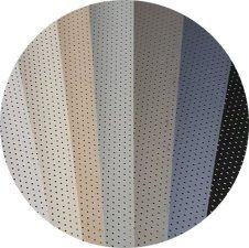 perforated aluminum slats