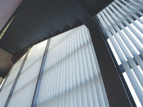 cortina en escalera