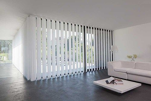 vertical blinds slate 50 mm