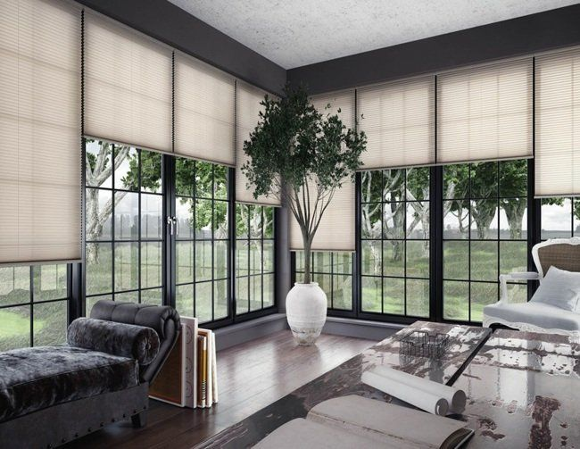 cortinas plisadas terraza