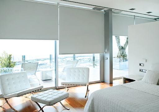 roller blinds bedroom