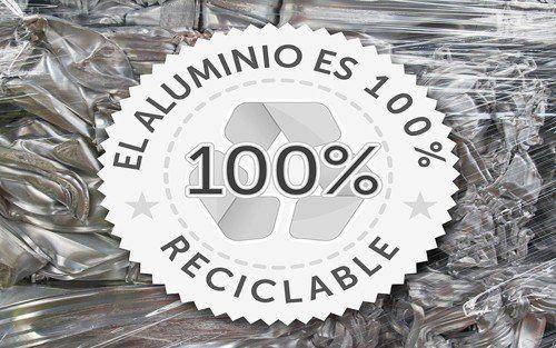 lama aluminio 100%