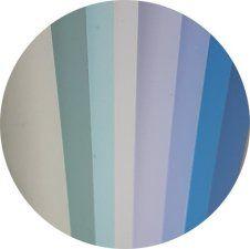 slats aluminium blue