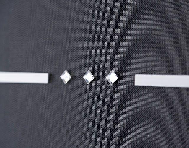 panel blind swarovski