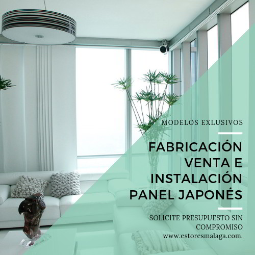 panel japones blanco salon