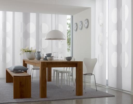paneles japoneses blancos para salón