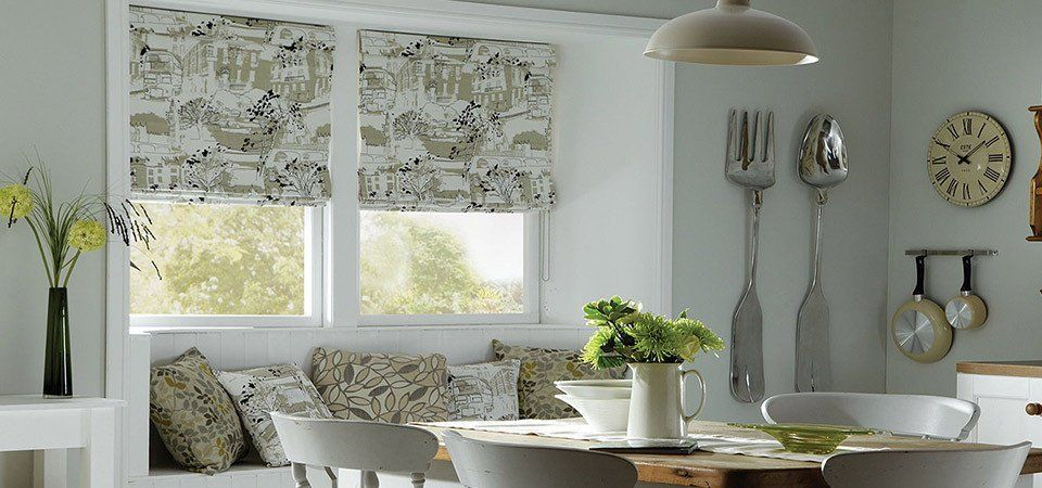 roman blinds office