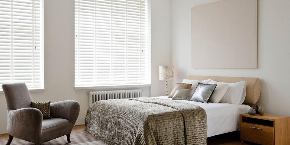 veneciana de madera dormitorio principal