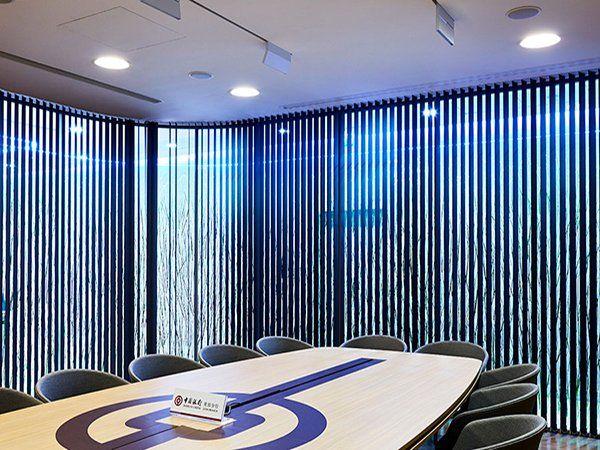 cortinas verticales para oficinas